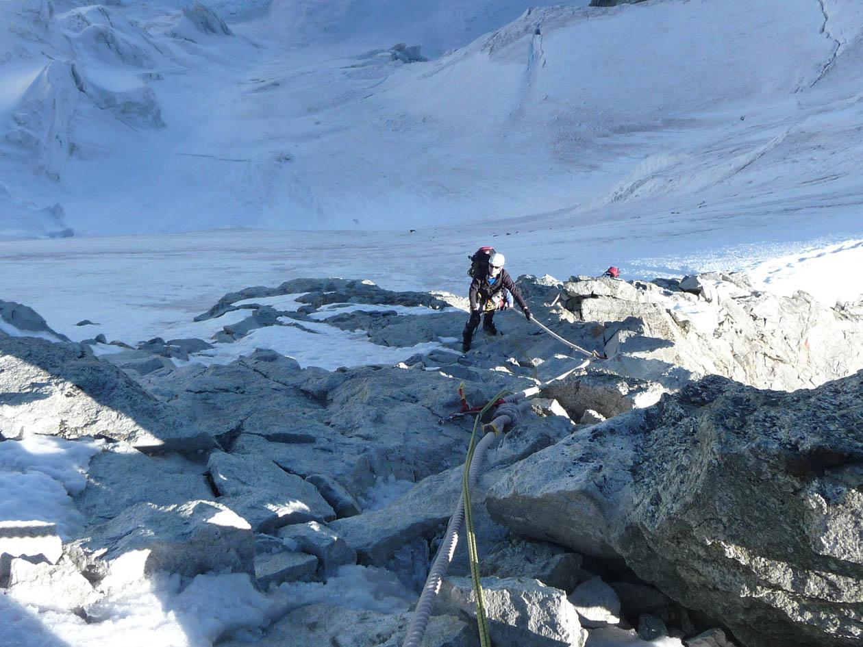 Kletterausrüstung Zermatt : Wellenkuppe obergabelhorn und zinalrothorn u2013 ein bericht